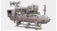MYCOM V-series screw compressor by Mayekawa