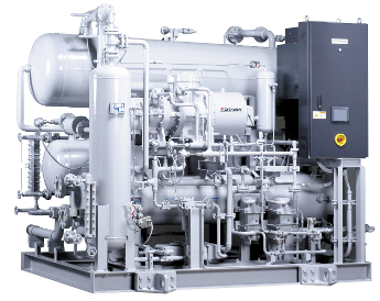 Newton 3000 ammonia (NH3) cardon dioxide (CO2) cascade refrigeration system